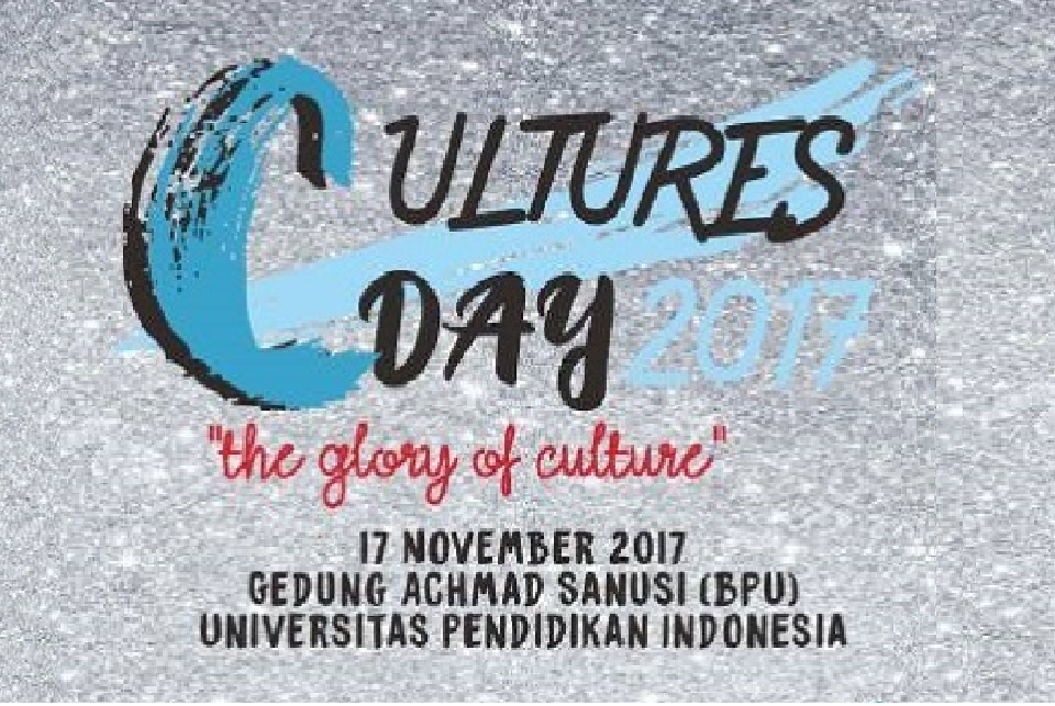Let's Join International Cultures Day 2017